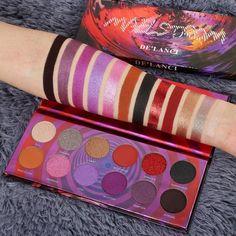 68065324772d DE LANCI 12 Color Maelstrom Makeup Eyeshadow Palette Glitter Shimmer  Pigment Eye Shadow   23.99