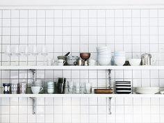 La maison d'Anna G.: Carrelage blanc