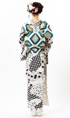 Furifu 2013 designed kimono outfit