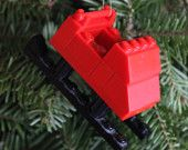 LEGO Sleigh Ornament