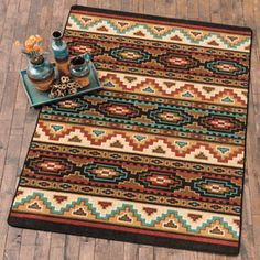 Head to Lone Star Western Decor currently and look at our outstanding inventory of Southwest rugs, including this Pagosa Springs Rug Collection! Southwestern Quilts, Southwestern Decorating, Southwestern Style, Navajo Weaving, Navajo Rugs, Western Bedding, Black Forest Decor, Pagosa Springs, Burlap