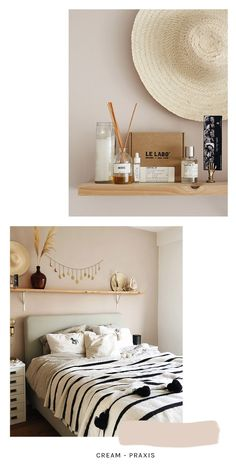 Interieur inspiratie: de mooiste muurkleuren – Mañana Mañana Floating Nightstand, Table, Furniture, Home Decor, Floating Headboard, Interior Design, Home Interior Design, Desk, Tabletop