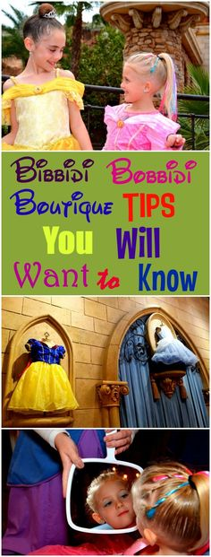 Bibbidi Bobbidi Boutique Tips You Will Want to Know A list of tips that will help you save time and money while at Bibbidi Bobbidi Boutique at Walt Disney World. Disney World 2017, Walt Disney World Vacations, Disneyland Trip, Disney Parks, Disney Worlds, Family Vacations, Birthday At Disney World, Disney World Must Do, Disney World Princess
