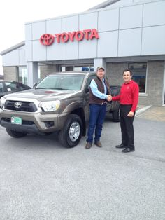 Here at Handy Toyota, Customer service is our top priority!  Come on down and work one of our many great sales and leasing consultants; They will get you into the car you want!  Who knows, you may be lucky enough to even get you picture put up on our Facebook.  Be sure to follow us on Facebook for more pics and other news around the dealership (https://www.facebook.com/handytoyota)   HandyToyota.com
