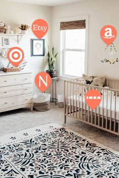 Add any item from any store onto one registry with Babylist! girl bedroom ideas color schemes girl bedroom ideas on a budget bedroom bedroom furniture girl bedroom ideas grey girl bedroom ideas small Baby Nursery Decor, Baby Bedroom, Baby Boy Rooms, Nursery Neutral, Nursery Room, Girl Nursery, Girl Room, Girls Bedroom, Bedroom Ideas