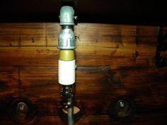 Lampadina con tubo dell'acqua