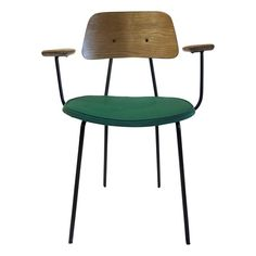 One Kings Lane - Mad for Mid-Century Modern - Jacques Hitier Chair, 1950 Metal Chairs, Cool Chairs, Side Chairs, Mid Century Modern Decor, Mid Century Modern Furniture, Furniture Decor, Furniture Design, Interior Decorating, Interior Design