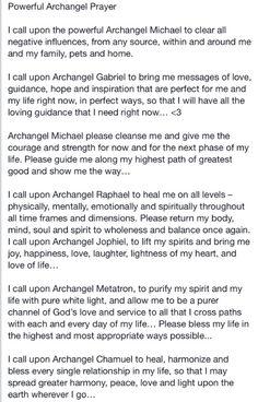 Archangel Prayers, St Michael Archangel Prayer, Archangel Raphael Prayer, St Michael Prayer, Archangel Gabriel, Prayer Scriptures, Faith Prayer, God Prayer, Prayer Quotes