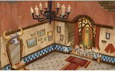 Artes de Yashar Kassai para The Book of Life | THECAB - The Concept Art Blog