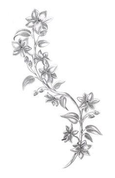 sampaguita - if I decided to get another tatoo. Side Boob Tattoo, Side Tattoos, Small Tattoos, Script Tattoos, John Smith, Jasmin Tattoo, Tribal Tattoos, Jasmine Flower Tattoos, Larkspur Tattoo