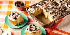 cookies and cream rolls recipe Cream Roll Recipe, Key Lime Pie Cheesecake, Cinnamon Raisin Bread, Chocolate Graham Crackers, Easy No Bake Desserts, Icebox Cake, Instant Yeast, Rolls Recipe, Cookies And Cream