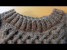 Вязание горловины спицами. Кеттельный шов. How to sew a seam in knitting - YouTube