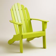 Apple Green Adirondack Chair   World Market