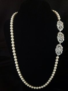 Click here to purchase fabulous pearl necklace. http://www.victoriarosebridals.com/?product=7371mh  $180.00