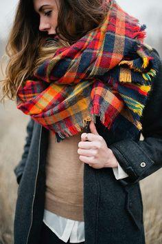 scarf | autumn ! woman | cold ! cute