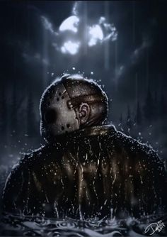 Jason Voorhees by on deviantART Horror Movie Characters, Slasher Movies, Horror Villains, Jason Friday, Friday The 13th, Horror Icons, Horror Films, Arte Horror, Horror Art