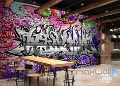 3D Graffiti Monster Wall Murals Paper Art Print Decals Decor Wallpaper IDCWP-TY-000077