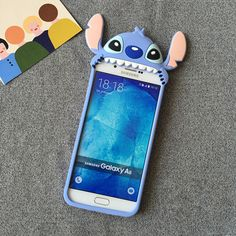 Disney Stitch Cartoon Hart Silikon Handyhülle für iphone 6/ 6 plus und Samsungs7/s7edge - elespiel.com