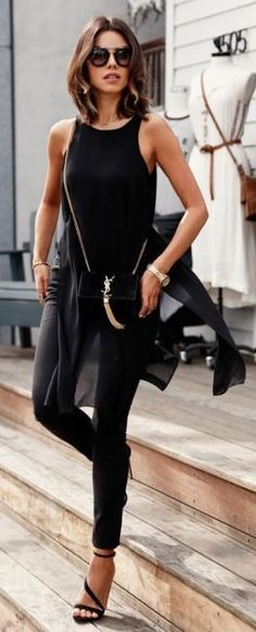 All Everything Black Street Style
