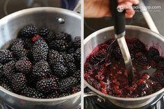 Blackberry Chia Jam (low-carb, keto, sugar-free, vegan, paleo)