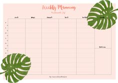 Discover recipes, home ideas, style inspiration and other ideas to try. Blog Planner Printable, Weekly Planner Template, Study Schedule Template, School Timetable, Custom Planner, Diy Back To School, Day Planners, How To Plan, Goals Worksheet