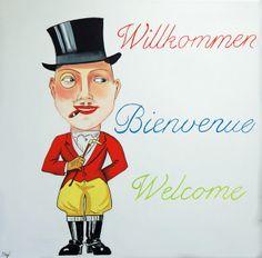 Geschenk Bild Ölbild Kunst von Atelier Art-istique auf DaWanda.com
