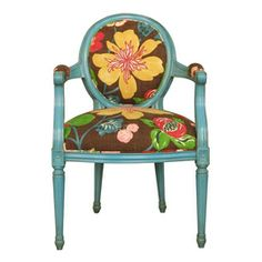 Pentik Antoinett Armchair - awesome !!! Sofa Chair, Armchair, Furniture Decor, Painted Furniture, Table And Chairs, Tables, Lovely Things, My Dream Home, Finland