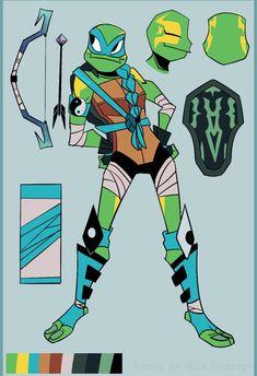 Ninja Turtles Art, Teenage Mutant Ninja Turtles, Tortugas Ninja Leonardo, Cute Drawlings, Tmnt Girls, Tmnt Comics, Tmnt 2012, Cartoon Crossovers, Memes