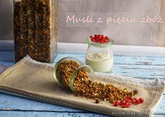 Kulinarne przygody Gatity: Musli (granola) pięć zbóż
