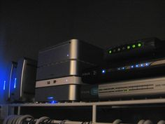 This is our home and home office server, set up in our hall closest. It's made up of Intel Mac MIni (Core Duo), stacked with two 500GB external drives (one Firewire, one USB 2) and a pair of 250GB FW drives on the left, setup as a mirrored RAID. The Viettel IDC Colocation, Dedicated Server, Hosting, Vps, Domain, Email, Cloud Computing...