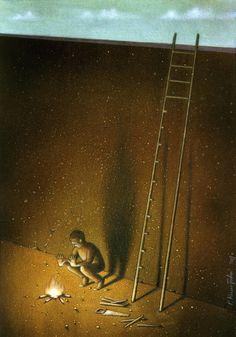 Darkly Satirical Paintings - 11 - Paul Kuczynski