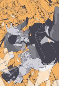 Manga Art, Anime Manga, Anime Art, Gangsta Nicolas, All Anime, Me Me Me Anime, Nicolas Brown, Manhwa, Gangsta Anime