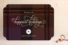 Black Watch Greetings by Jennifer Wick at minted.com