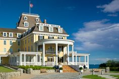 The Ocean House and Seasons Restaurant, Watch Hill, RI- Gilded age Relais & Chateaux oceanfront elegance.