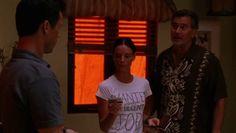 "Burn Notice 3x13 ""Enemies Closer"" - Michael Westen (Jeffrey Donovan), Fiona Glenanne (Gabrielle Anwar) & Sam Axe (Bruce Campbell)"