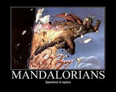 Mandalorians - Spartans in Space