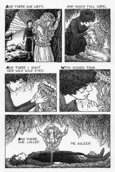 julian peters the comic book adaptation of the poem la belle dame sans merci john keatsuniversity