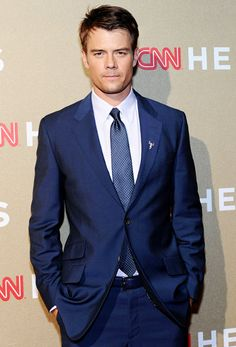 Josh Duhamel...in a suit! <3