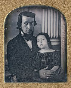 1848, father & daughter