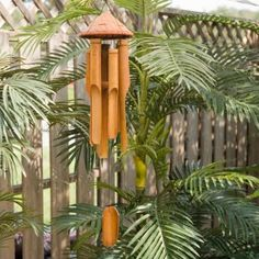 Wood hat wind chime..these ones make the best sound : )