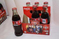 Coca Cola 1996 #18 Bobby Labonte 6 pack FULL $15 Bobby Labonte, Jimmy Johnson, Bottles For Sale, Coke, Nascar, Coca Cola, Appreciation, Packing, Drinks