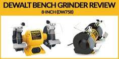 DeWalt Bench Grinder Review [Value For Money] Bench Grinder, Crushed Stone, How To Remove Rust, Motor Speed, Money, Silver, Crushed Gravel