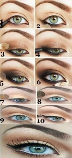 70+ Trendy makeup for brown eyes daytime #HowToDoEyeshadow Daytime Eye Makeup, Hooded Eye Makeup, Cat Eye Makeup, Makeup Eyeshadow, Makeup Contouring, Hooded Eyes, Eyeshadows, Hair Makeup, Makeup Tricks