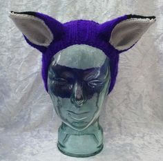 Purple Fox Headband