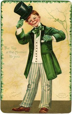 Vintage Redhead Irishman Image - The Graphics Fairy