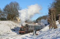 The Bluebell Railway is running Santa Specials up until Christmas Eve.  From 27th they are running Fairy Godmother Specials until the new year. www.bluebell-railway.co.uk