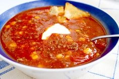 Mexikansk het köttfärssoppa Soup Recipes, Dinner Recipes, Cooking Recipes, Healthy Recipes, I Love Food, Good Food, Yummy Food, Swedish Recipes, Dessert For Dinner