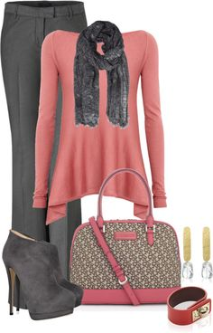 """This sweater would be flattering for all body shapes on camera. """"Untitled #1109"""" by lisa-holt ❤ liked on Polyvore"""