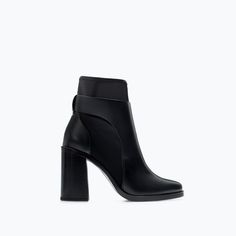 Image 1 of NEOPRENE HIGH HEEL ANKLE BOOT from Zara