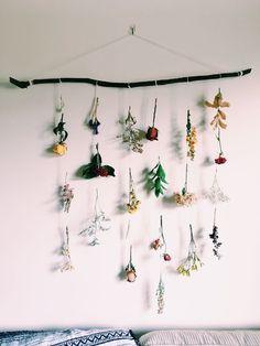 creative flower hanging